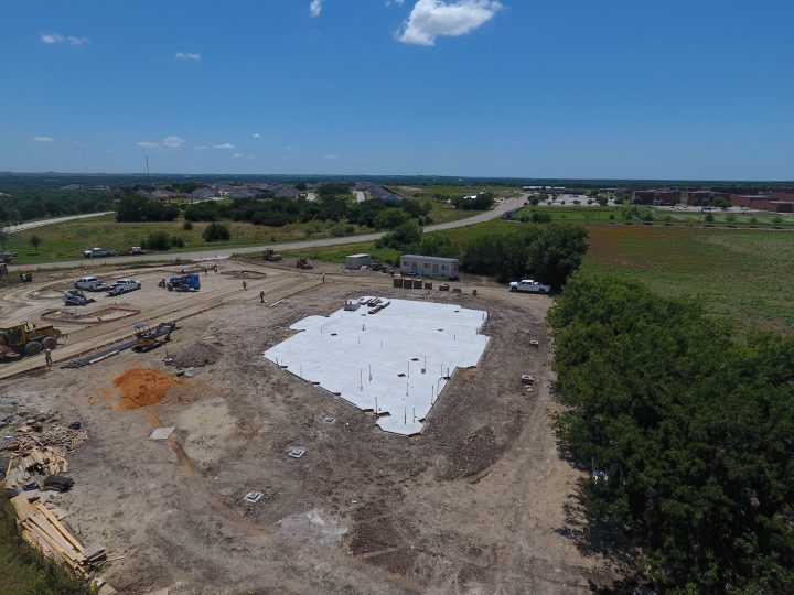 Aledo Bank Construction Project